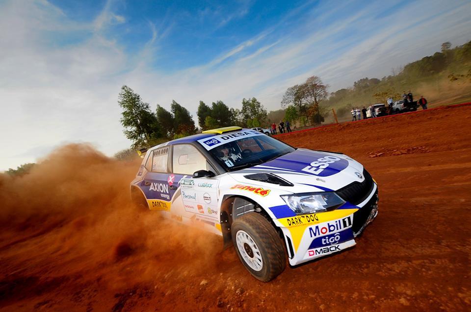 Saba se impone en el Petrobras Rally de Altoparaná
