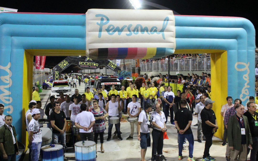 Rally Trans Itapúa: La vibrante largada simbólica.