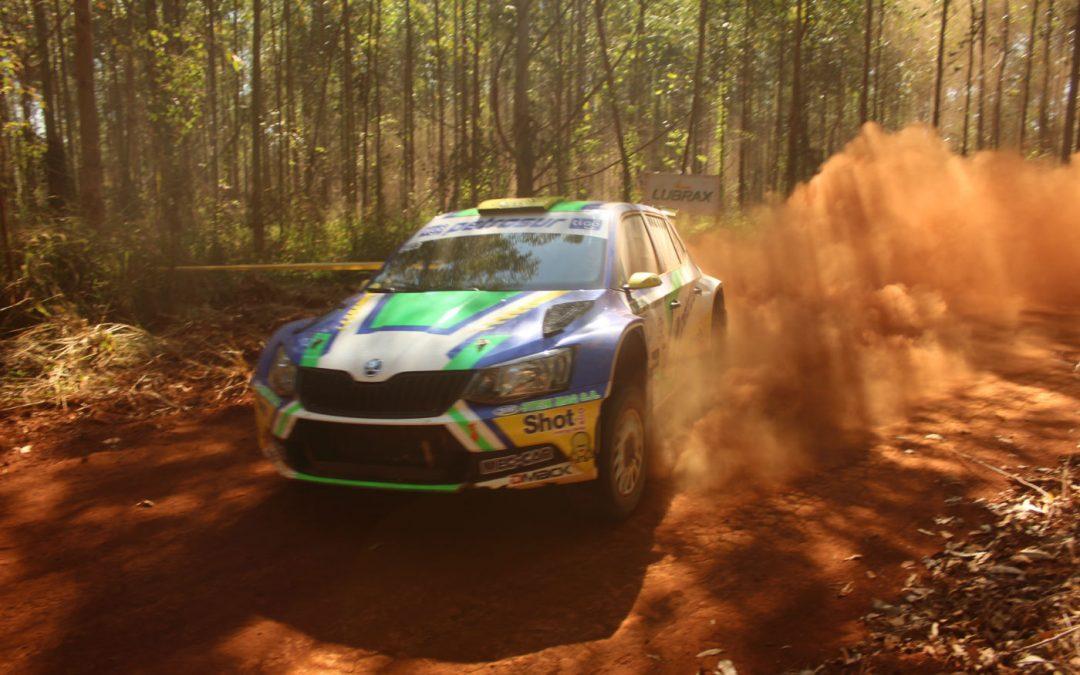 Tiago Weiler se queda con el Rally de Alto Paraná 2017