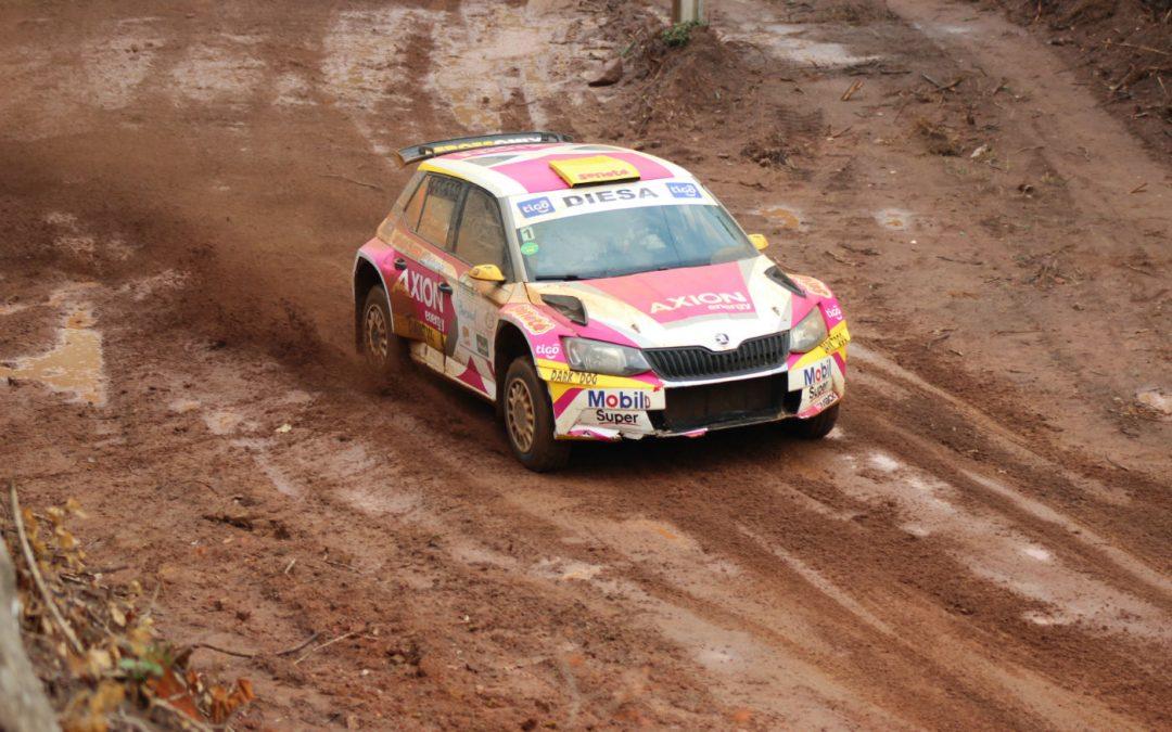 Rally de Acosta Ñu 2017: Gustavo Saba y Juan Martín Masi comandan en la primera etapa