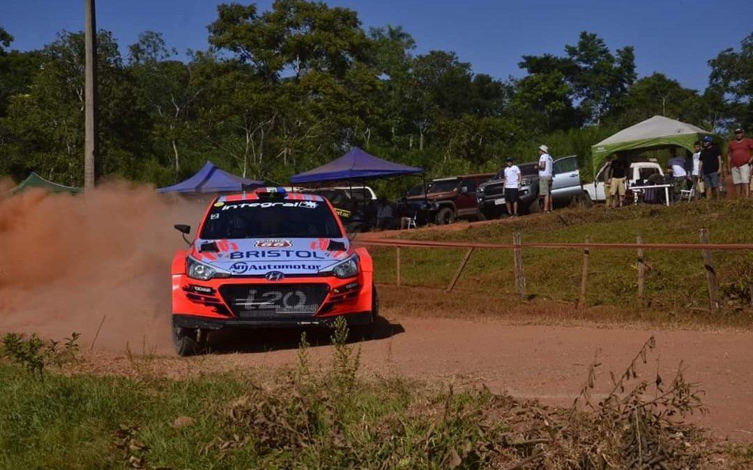 Diego Domínguez logra la victoria tras un giro agónico en el Petrobras Rally de Santaní 2020